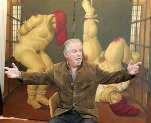 Botero, painting on Abu Ghraib torture by US troops