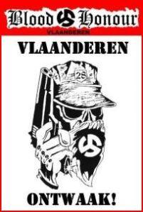 Picture on Blood & Honour Flanders website