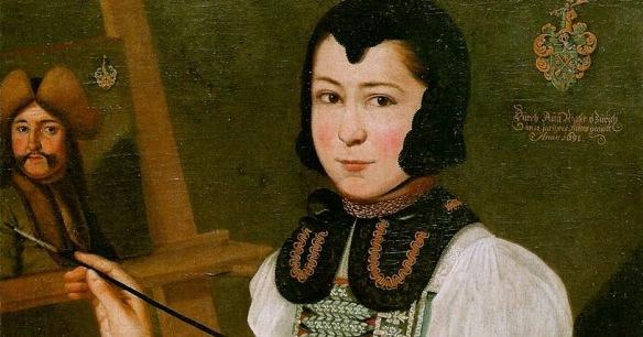 Anna Waser, Self-portrait