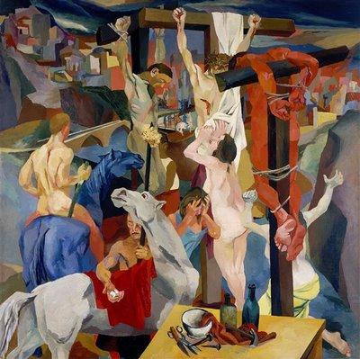 Guttoso, Crucifixion, 1941