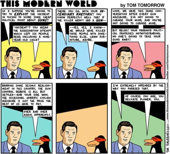 Tom Tomorrow cartoon on the Tucson massacre