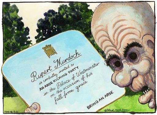 Rupert Murdoch cartoon