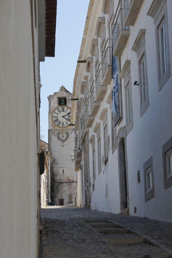Old church, Tavira medieval centre, 7 April 2012