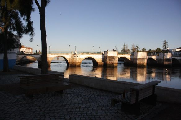 Roman bridge, Tavira, 7 April 2012