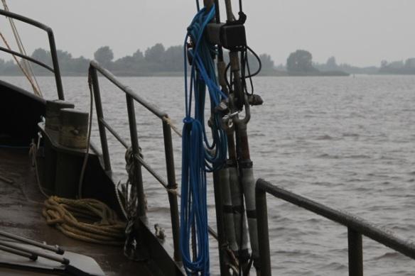 Sailing near Zoutkamp, 28 September 2012