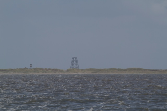 Rottum, seen from the Wadden Sea, 29 September 2012