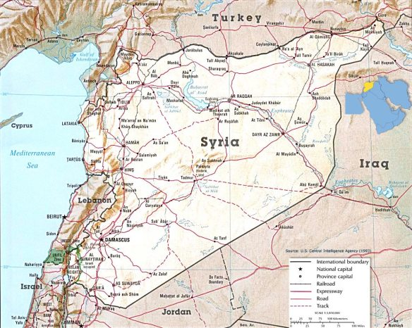 Syria and Turkey