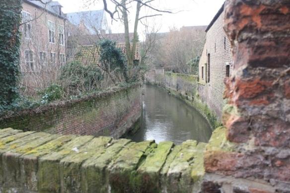 Bridge across the Dijle, Groot Begijnhof, Leuven, 7 March 2013