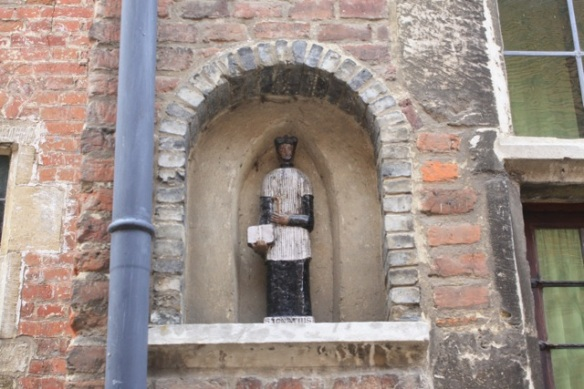Ignatius of Loyola statue, Leuven, 7 March 2013