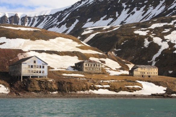 Grumant ghost town, Svalbard, June 2013
