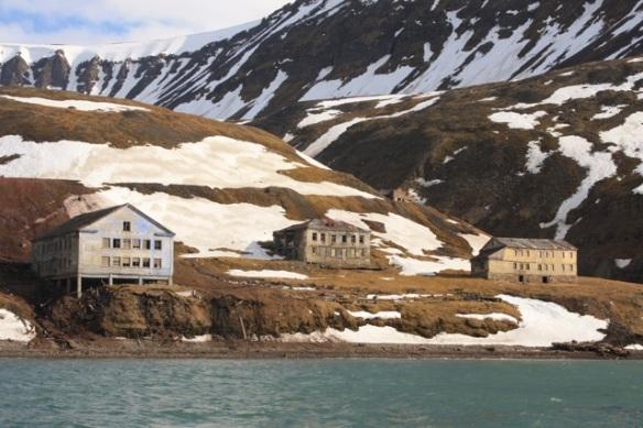 Grumant ghost town, Svalbard, June 2013