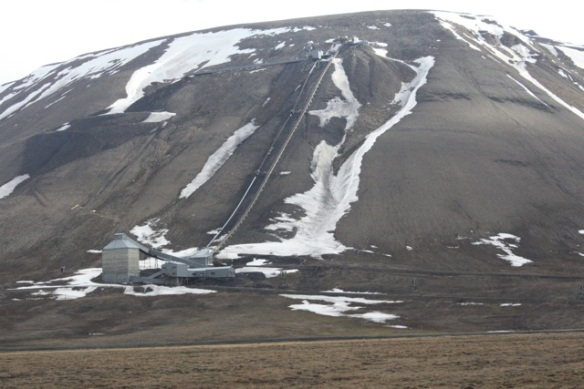 Mine, Adventdalen, Svalbard, June 2013