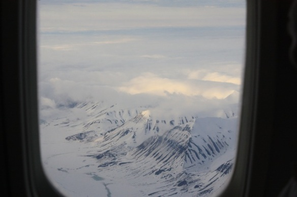 South western Spitsbergen seen from the air, 2 June 2013