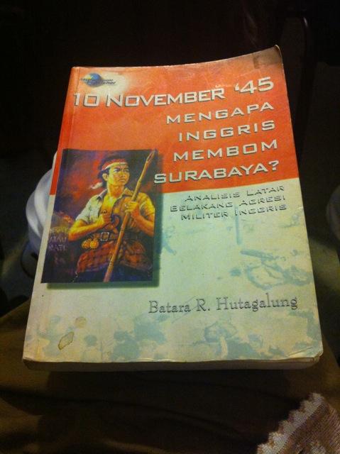 Book about Surabaya 1945