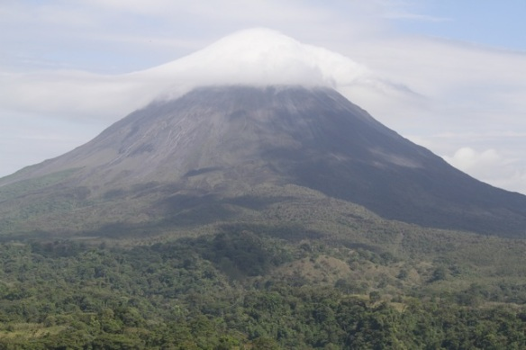 Arenal volcano, 20 March 2014