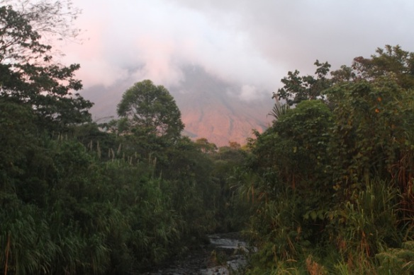 Arenal volcano, 19 March 2014