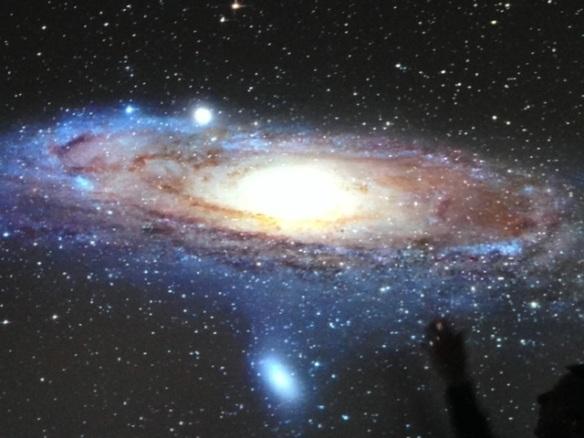 Andromeda galaxy, 10 May 2014