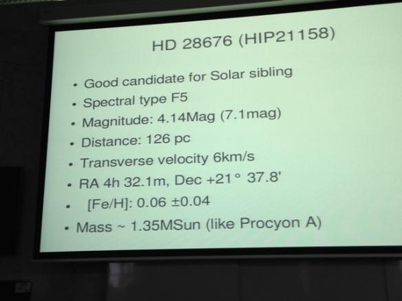 HD 28676, 10 May 2014