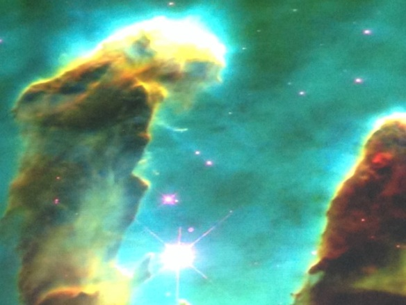 New stars originating from cosmic 'clouds', 10 May 2014