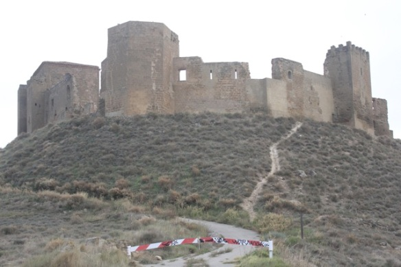 Montearagón castle, 2 November 2014