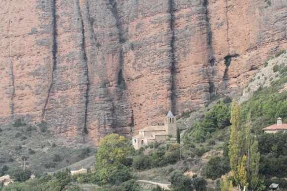 Riglos church, 2 November 2014