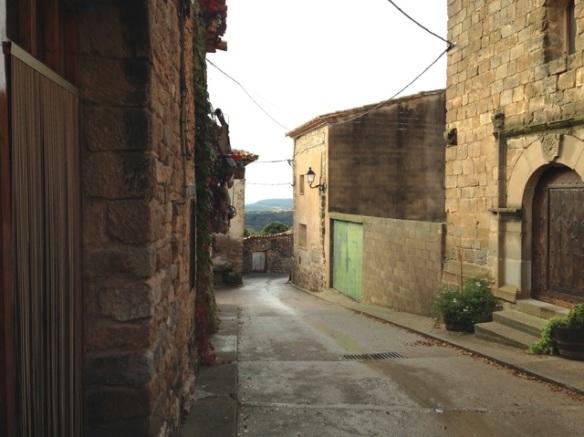 Santa Cilia village, 4 November 2014