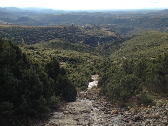 Sierra de Guara view, 4 November 2014