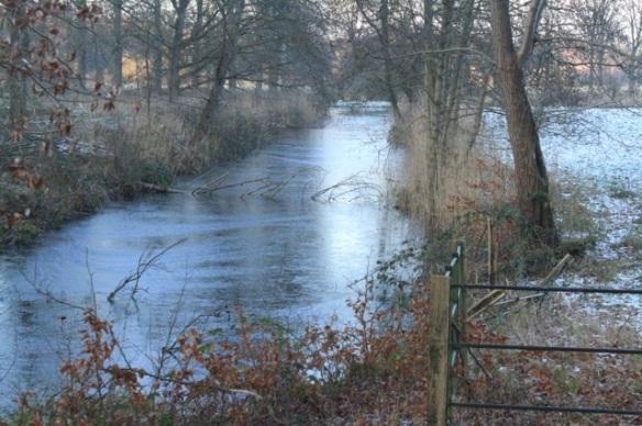 Gooilust frozen ditch, 28 December 2014