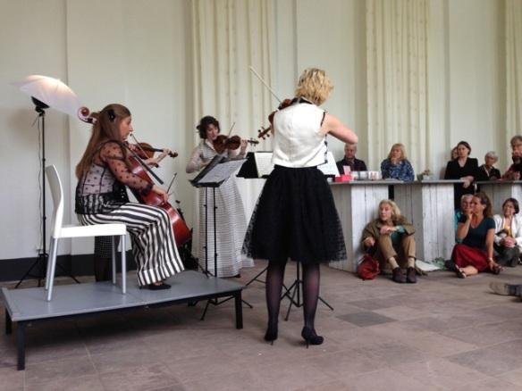 Ragazze Kwartet, 25 May 2015