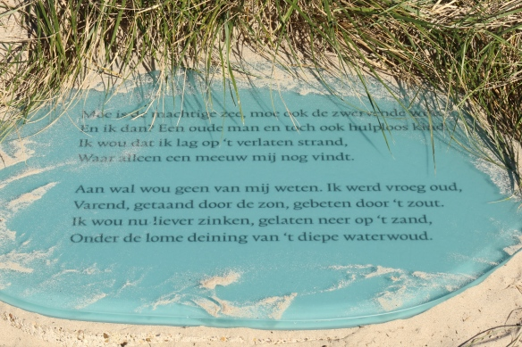 Slauerhoff Vlieland on dune