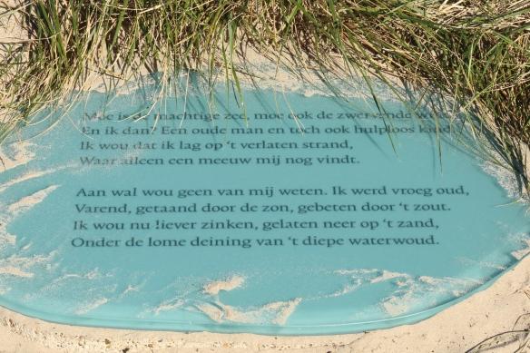 Slauerhoff Vlieland on dune