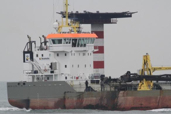 Maasvlakte, ship, 24 October 2015