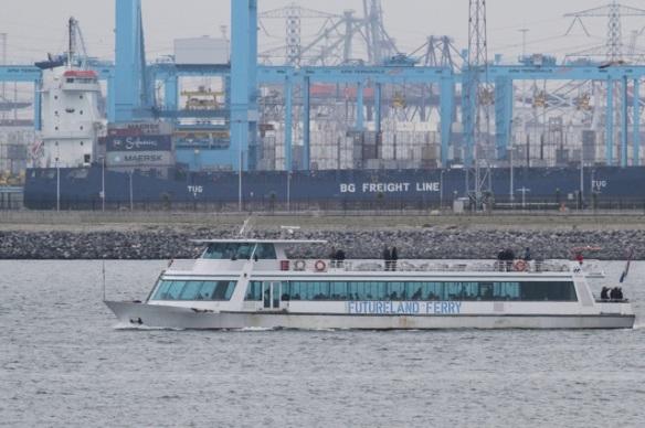 Maasvlakte, ferry, 24 October 2015