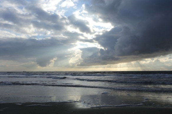 Texel beach, 5 March 2016