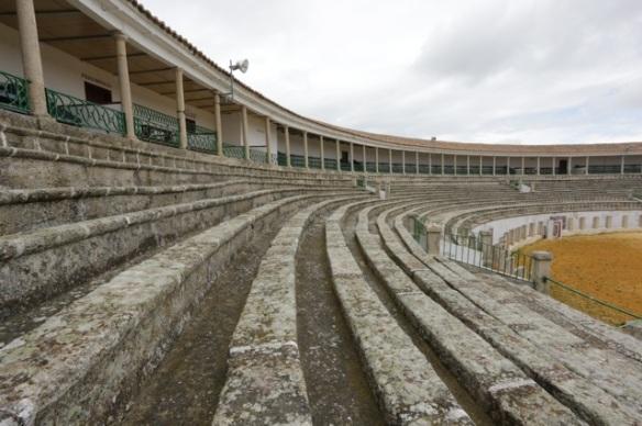 Trujillo, inside the arena, 11 April 2016