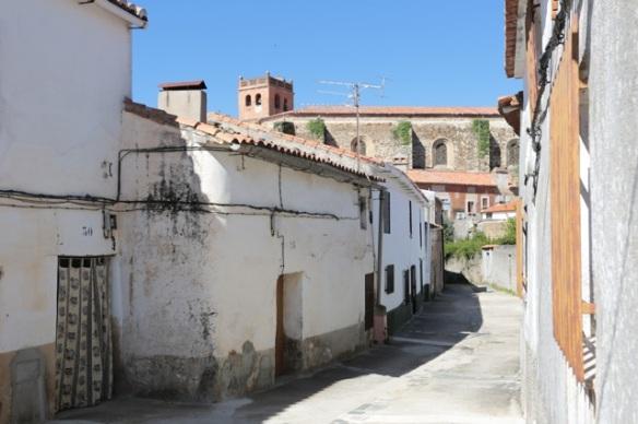 Jaraicejo, Extremadura, street, 24 April 2016
