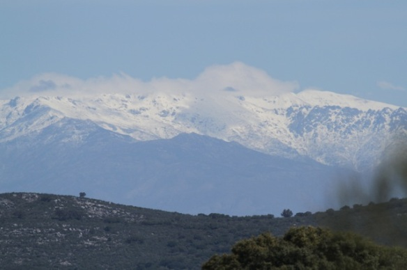 Sierra de Gredos snowy mountains, 18 April 2016