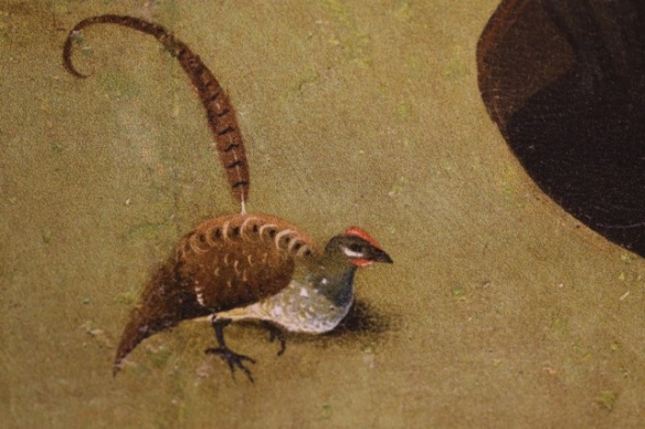 Bird by Hieronymus Bosch