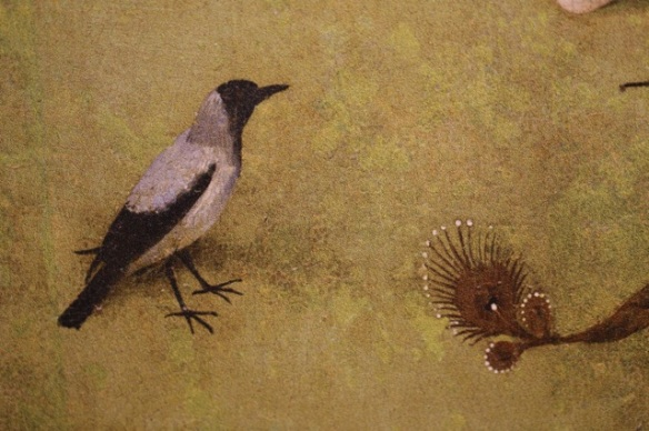 Hooded crow, Hieronymus Bosch