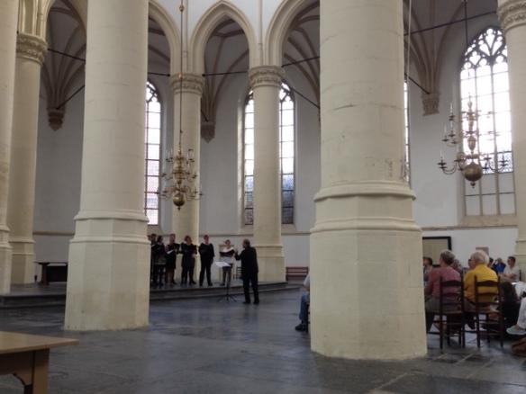 Choir in Hooglandse Kerk, 10 September 2016
