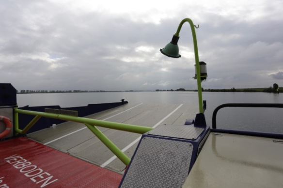 Ferry to Tiengemeten, 11 September 2016