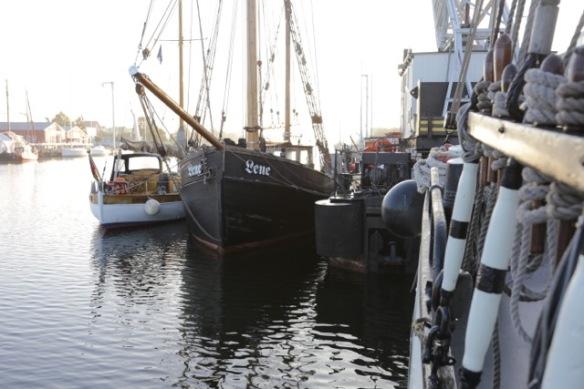 Greifswald harbour, 2 October 2016
