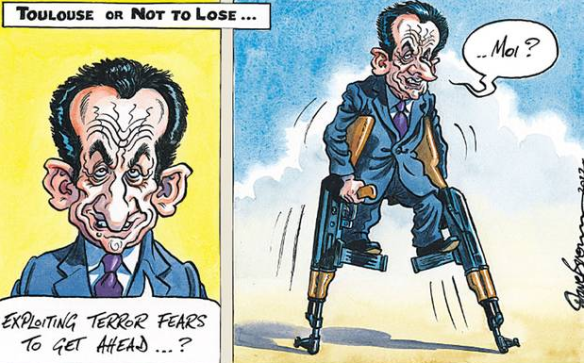 Sarkozy cartoon