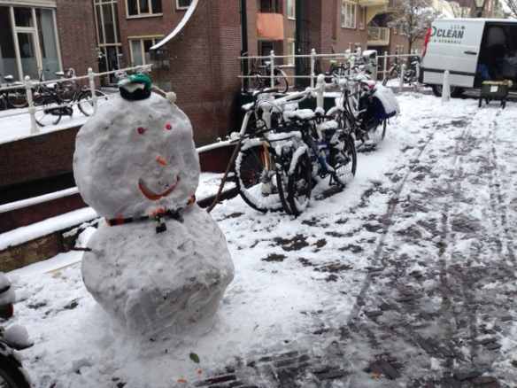 Snowman, 12 February 2017