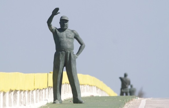 Hemingway sculpture, 12 March 2017