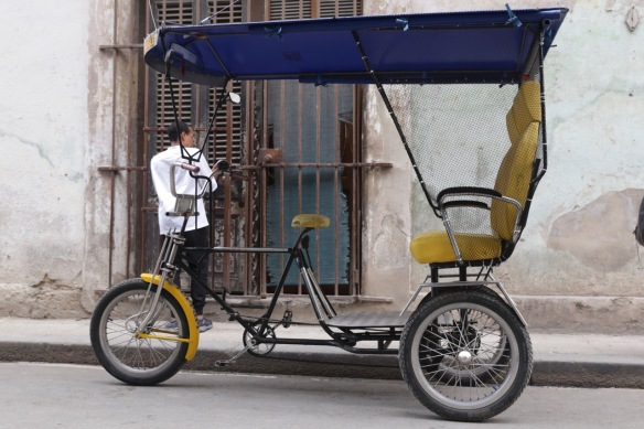 Havana bike taxi, 15 March 2017