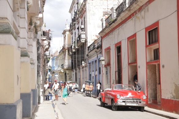 Havana car and bike taxi, 15 March 2017