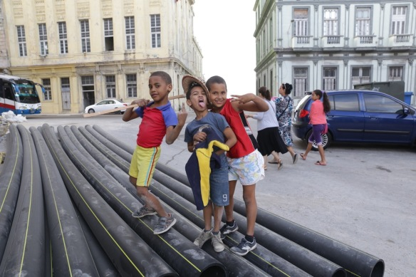 Havana children, 15 March 2017