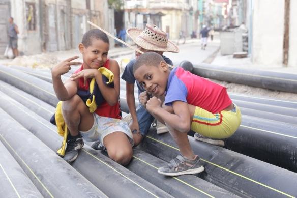 Havana children, on 15 March 2017