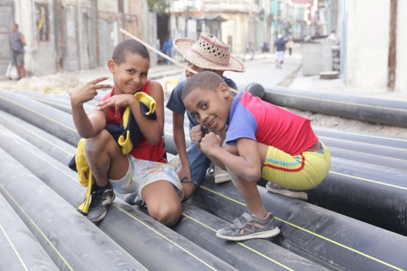 Havana children, on 15 March 2017